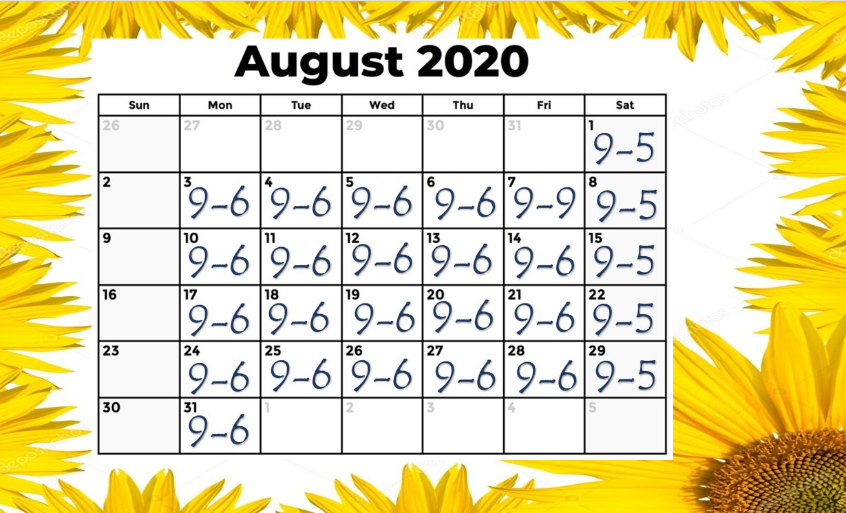 August 2020 Final Snip