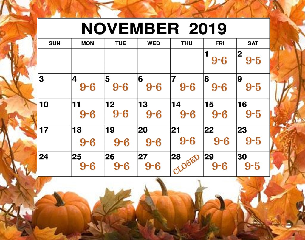 November 2019 FINISHED